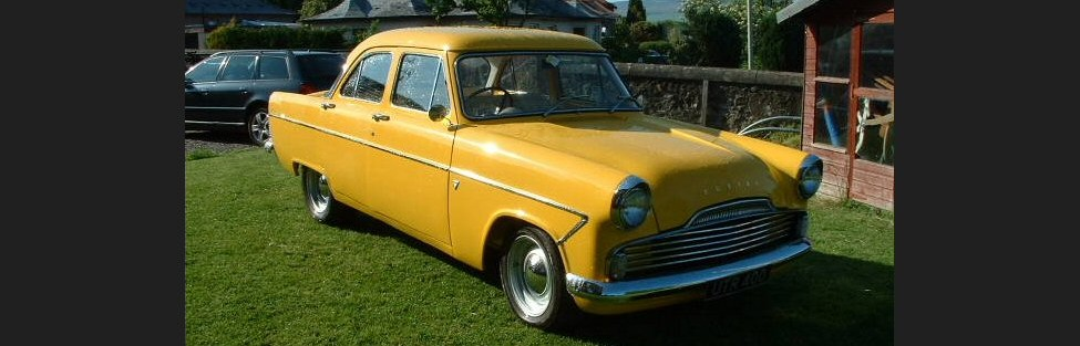 Dave McGill's 1958 Ford Zodiac Mk2