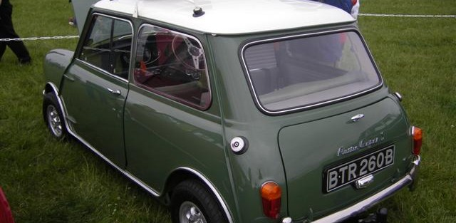 Fiona Johnson's 1964 Mini Cooper S
