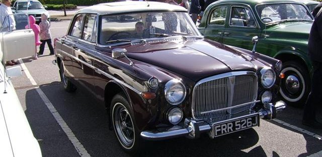 Gordon Smith's Rover Limo, Jaguar, Rover P5B, and Fred!