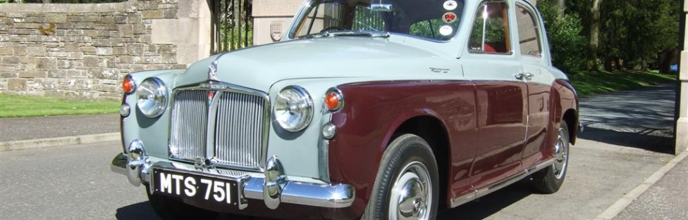 Jim and Mary MacLeod's Riley,Scimitar – and new pics of his Rover P4!