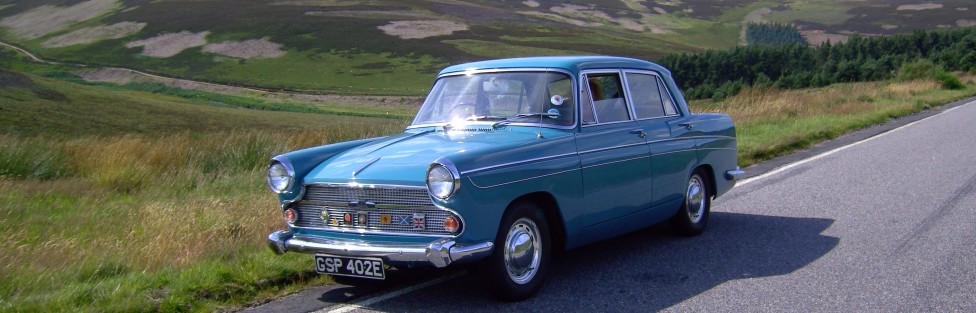 Alan Farnan's 1967 Austin 60 and a 1994 Honda Accord ES