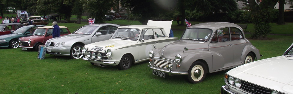 Motor Show Baxter Park 10th Aug 2014