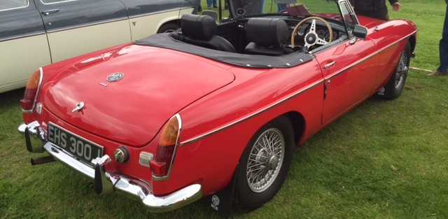 Maurice Cruikshank's new  MGB Roadster