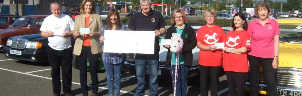 Tayside Classic Car Club charity presentation