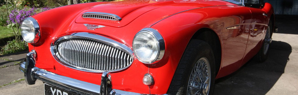 TCCC welcomes new member Dave Scott from Cupar Fife, with his 1963  Austin Healey 3000