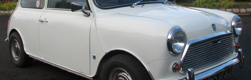 Dave Hocking's Mini, Cortina, Granada and Hillman Minx