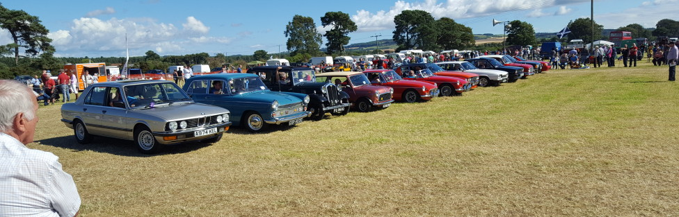 Ladybank Classic Car show 2016. It looks like we were last to leave.