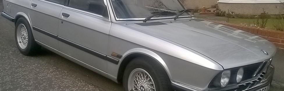 FOR SALE BMW 520i 1985