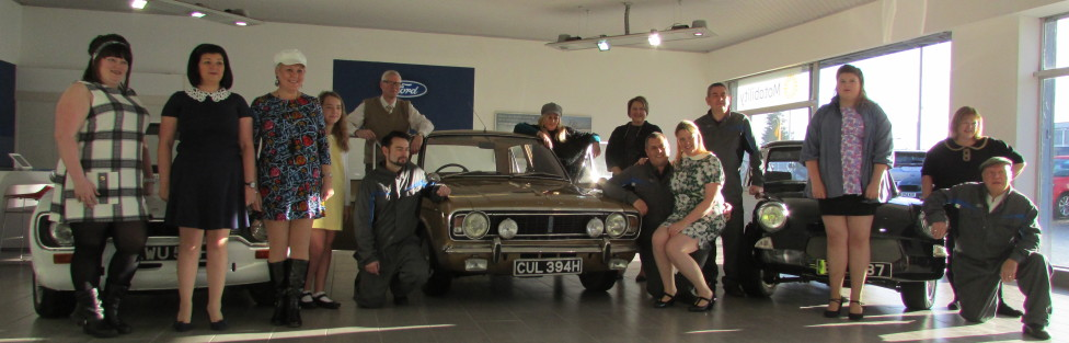 Ford Cortina 1600E was star of the show