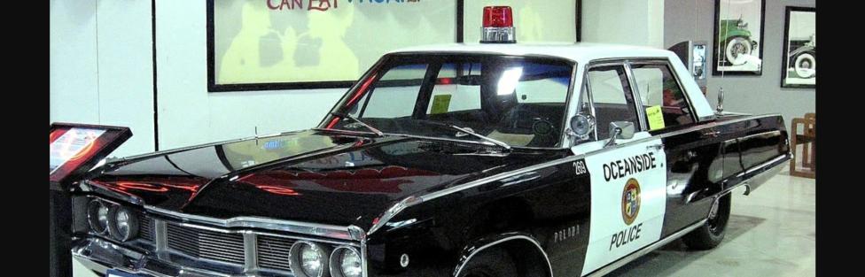 Tribute car build to American Police Hero