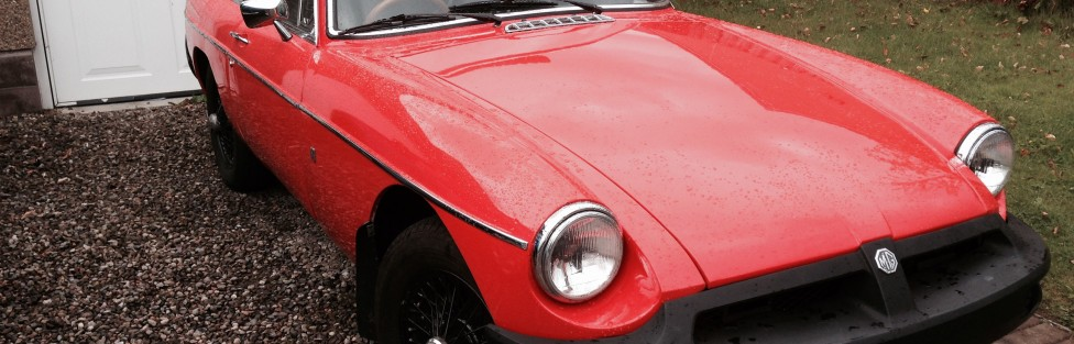 TCCC weclcomes new member Donnie MacNeil's 1977 MGB GT. Donnie is from Letham in Angus. He also has a 1986 Ford Capri