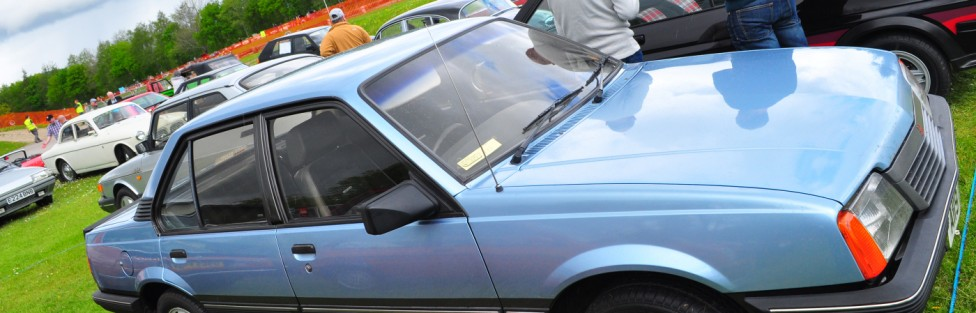 new member Andrew Findlay's 1983 Vauxhall Cavalier SRi. Andrew lives in Stonehaven