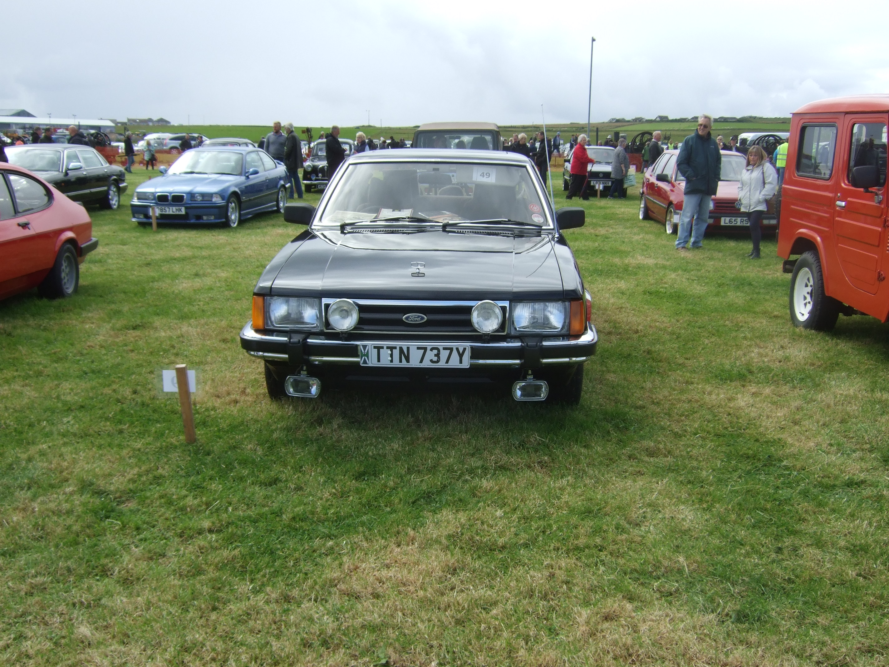 Orkney Rally on the 13th August with their Classic Cars, Gordon ...
