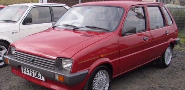 New member Degsy Smith from Fife with a 1988 Austin Metro Mk2. We did meet Degsy at the last breakfast meeting in March and hope it is not too long until we meet again.