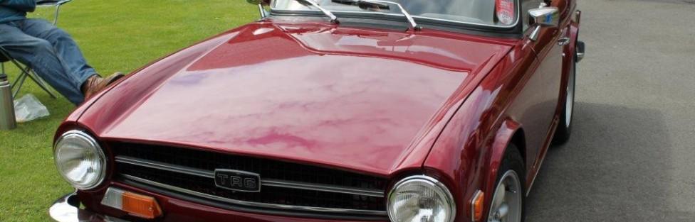 Ron Anderson's Triumph TR6