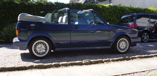 Mick Conway's 1992 VW Golf Clipper Convertible