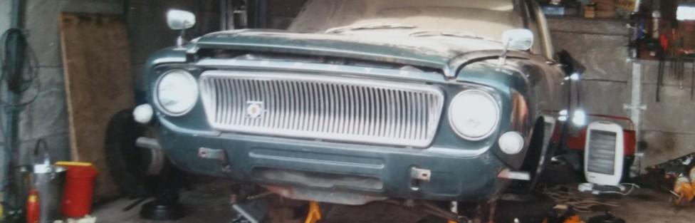 Dave Nicol's Ford 1965 mk 3 zephyr four, for restoration
