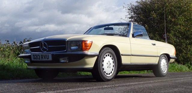 New member Bill Lipscombe's 1986 Mercedes 300 SL